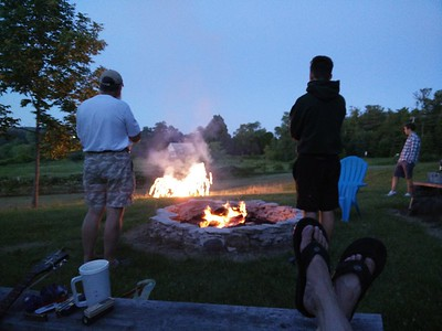 Knoll by the Bay - Fire Pit with Petersons