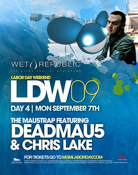 WET Republic @ MGM Grand Las Vegas 9.7.09