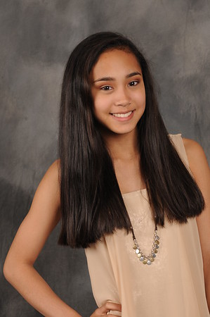 Gabby - 8th GradePortrait 2015