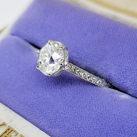 "The ""Michelle"" Solitaire - Featuring a 2.33ct Old European Cut Diamond"