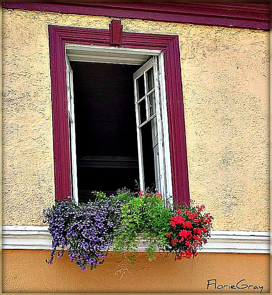 Open Window, Quebec City, Canada