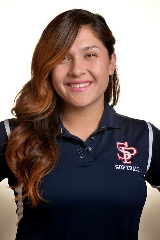 . Krystal Gutierrez from St. Paul High School was selected to the Whittier Daily News All-Area Softball team on Tuesday June 10, 2014. (Photo by Keith Durflinger/Whittier Daily News)