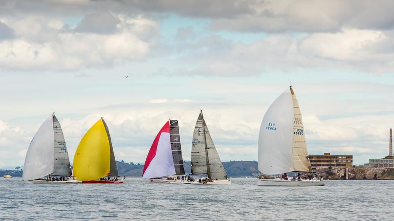 Yacht Racing on San Francisco Bay