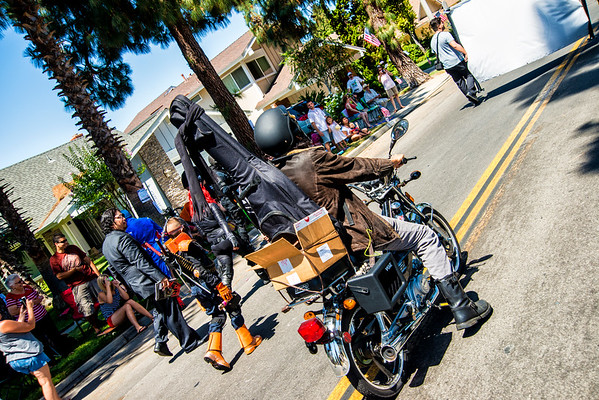 Tustin 4th of July Day Parade with Agents of Cosplay
