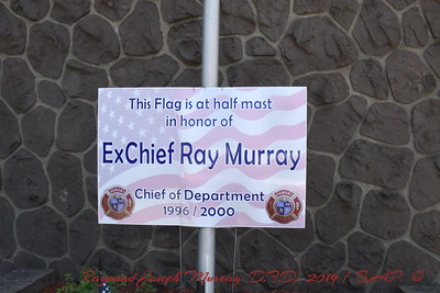 Memorial For Dumont Fire Dept Ex Chief Raymond Joseph Murray