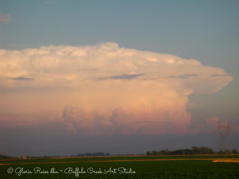Tall Anvil Cloud