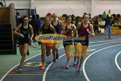 3200M Girls - January 23 MITS Meet at UM