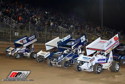 Virginia Motor Speedway - All Star Sprints - 4/11/19 - Michael Fry
