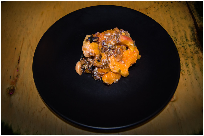 apricots, rye and almonds
