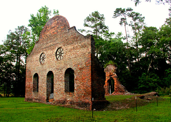 Old South Carolina Churches, Chapels of Ease, and Cemeteries