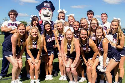 RMU Cheerleading & Dance team