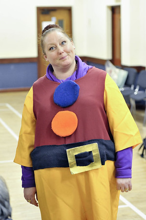 Panto Practice Pictures