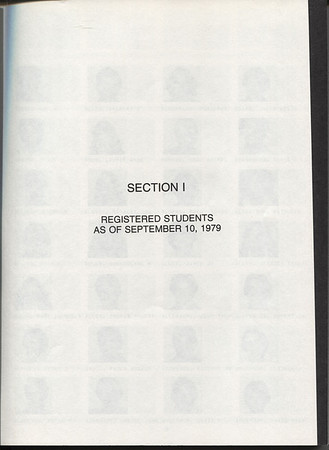 1979-1980 Student Directory