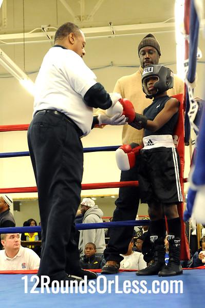 Bout 2 Terry Austin -vs- Latrell King, Junior, 65 lbs