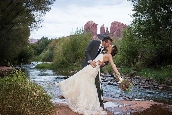 Shantall  &  Michael's Sedona Wedding