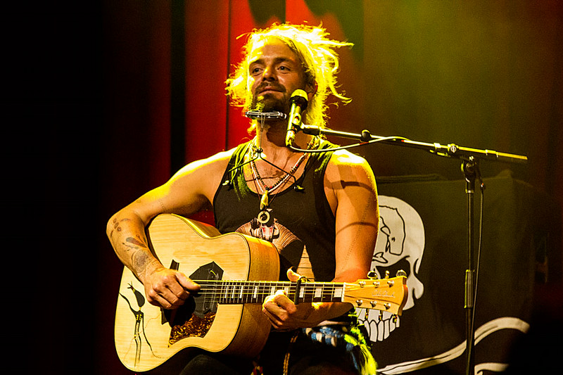 Xavier Rudd at The Fillmore. 7/12/2014