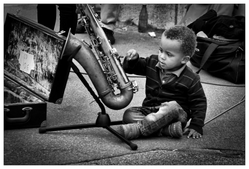 Future Sax Player