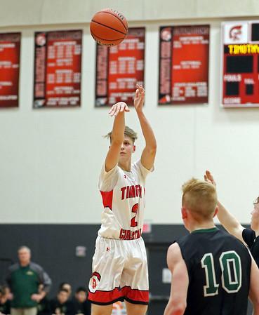 Timothy Christian Boys Basketball vs St. Edward