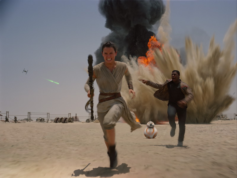 STAR WARS: THE FORCE AWAKENS expected to clear $2B in global box office by tomorrow‏