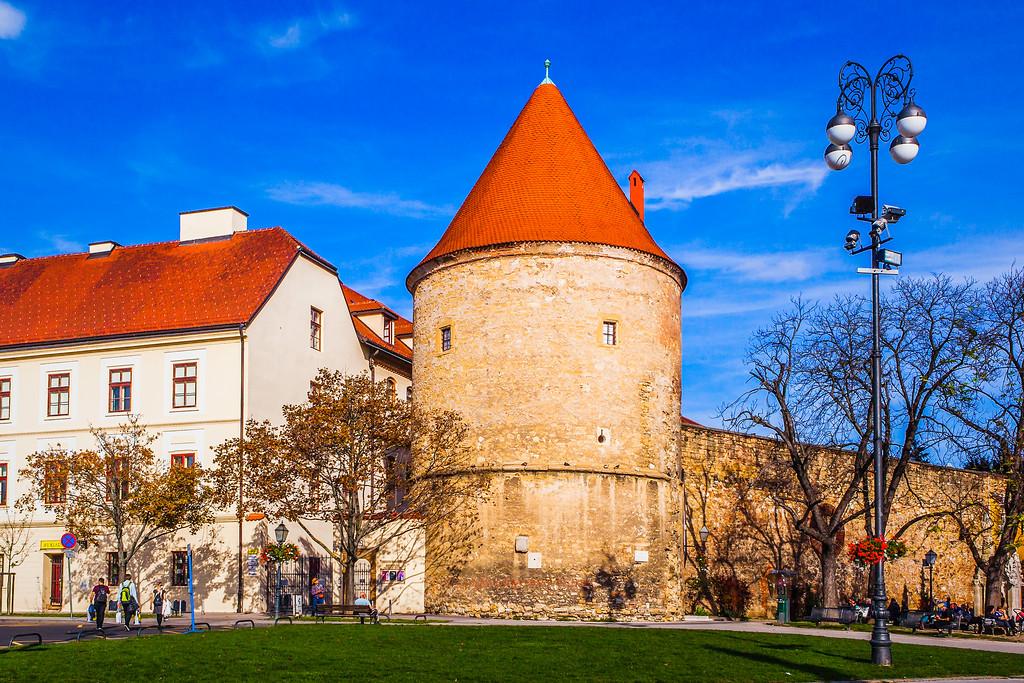 克罗地亚首都萨格勒布(Zagreb),城市印象