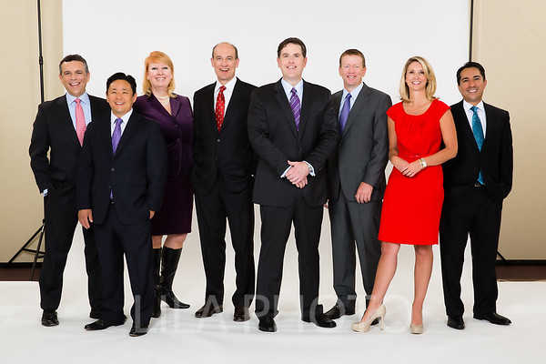 Retouched Executive Headshots & Group Photo