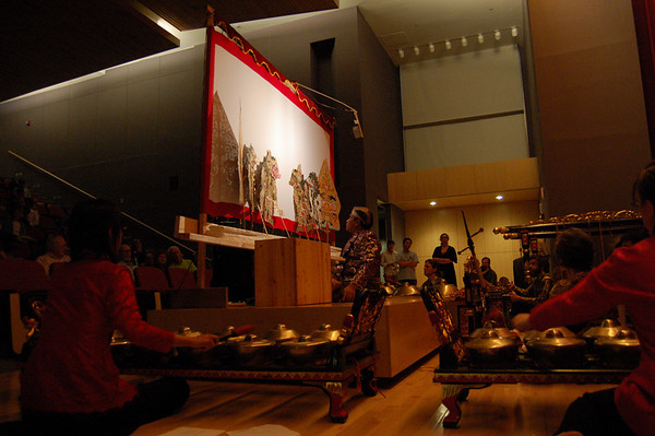 """Gamelan Nyai Saraswati"":Shadow Puppet Show, April 2007"