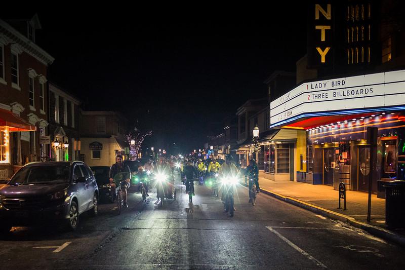 2017 Doylestown Holiday Lights Bike Ride