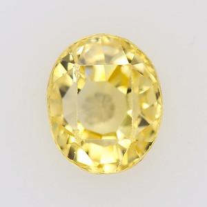 2.74ct Antique Yell Sapphire, GIA No Heat (pcs-a020)