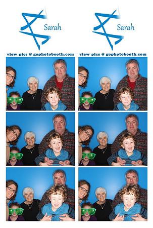 Sarah's Bat Mitzvah Photo Booth 8/24/13