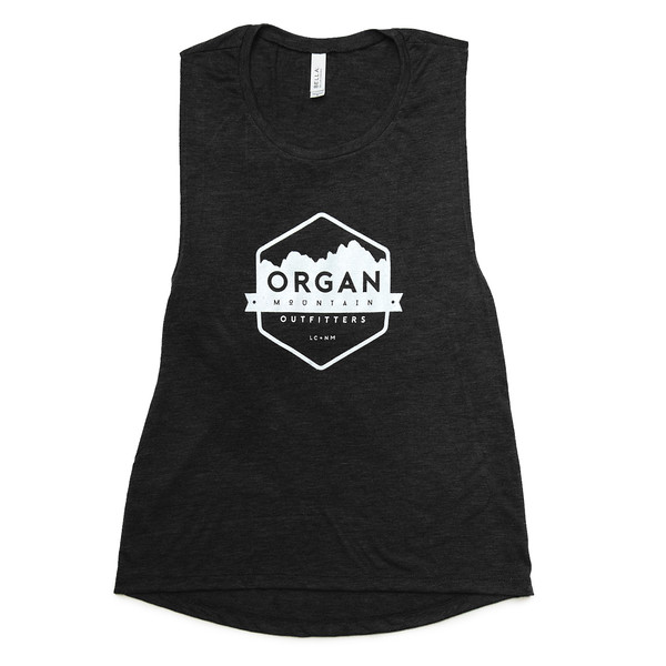 Organ Mountain Outfitters - Outdoor Apparel - Womens - Classic Muscle Tank - Black.jpg