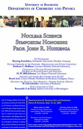 2006 John R. Huizenga 85th Birthday Symposium