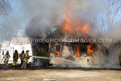 Queen St. and Glenfield Dwelling Fire (Detroit, MI) 3/30/15