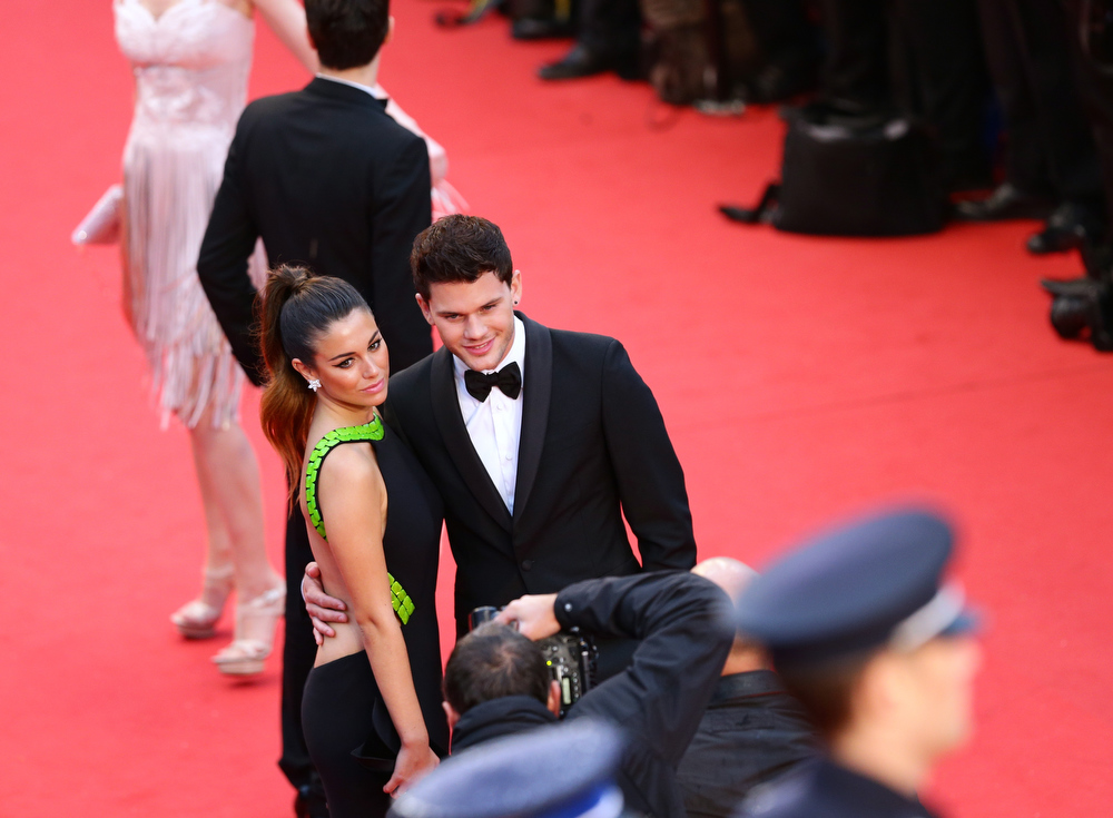 . Actress Blanca Suarez (L) and actor Jeremy Irvine attend the Opening Ceremony and \'The Great Gatsby\' Premiere during the 66th Annual Cannes Film Festival at the Theatre Lumiere on May 15, 2013 in Cannes, France.  (Photo by Vittorio Zunino Celotto/Getty Images)