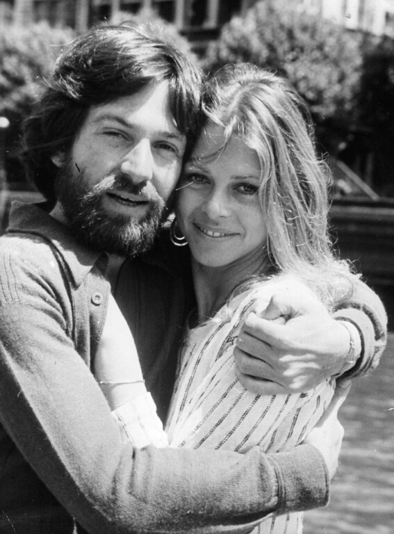 . Actress Lindsay Wagner with her second husband and fellow Michael Brandon.  Wagner is teaching Acting and Directing for Television and Film and Motion Picture Production as an adjunct faculty member at San Bernardino Valley College. (Getty Images)