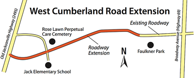 cumberland-road-expansion-project-delayed-by-wet-weather