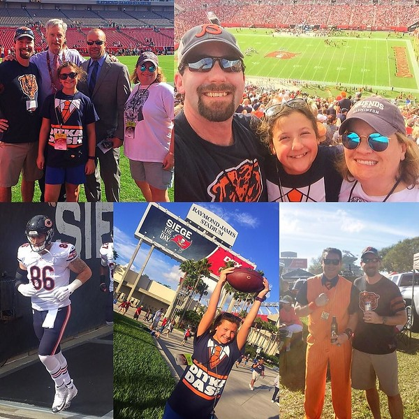 "We came...we saw and we ""sieged"" the day with a 26-21 #Bears victory!"