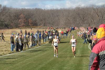 Womens 6K @ 3000m - 2015 NCAA D1 XC Great Lakes Regional