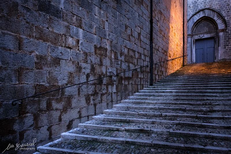 Sunset in Old Girona