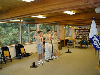 Troop 438 - Scout Meeting May 23, 2000