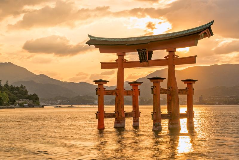 A Miyajima Sunset