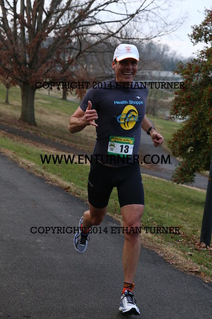 2015 Pistol Ultra Marathon -- 4 mile mark