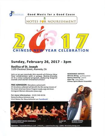 170226 Chinese New Year Celebration Program