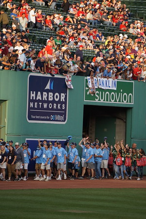 Champions Honored at Fenway Park on 8-20-18