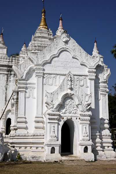Temples of Mingun, on the Irrawaddy River near Mandalay.