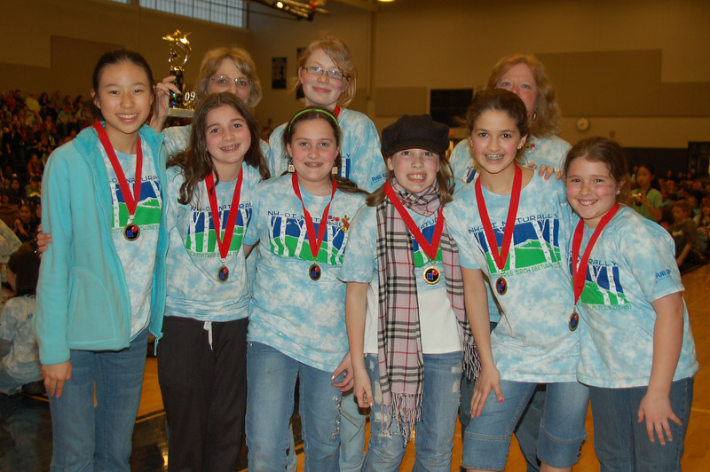 Windham Center School, Operation Cooperation. 2nd place.
