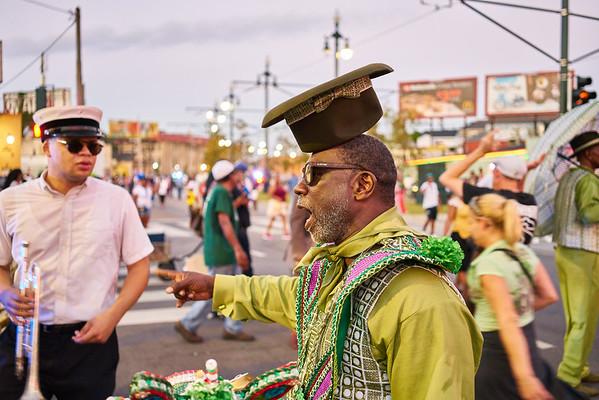 Black Men of Labor - Second Line - 2017