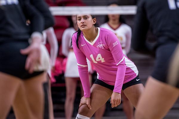 ISU Volleyball vs TCU 10/16/19