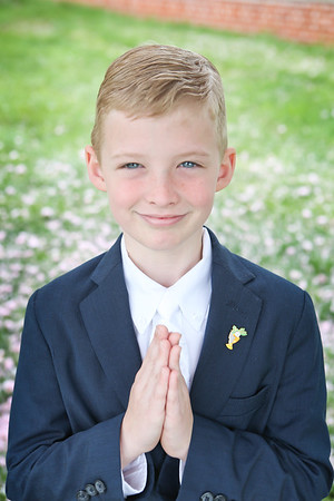 Leo's First Communion