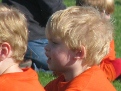 Michael's First Soccer Game - 9.10.11