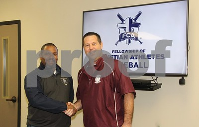 1/23/18 2018 NE TX FCA Heart Of A Champion All Star Draft Day - Baseball by Jim Bauer